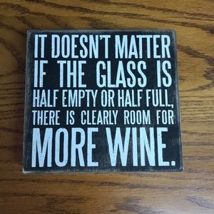 Other - Fun Wine Sign!